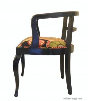 Poltroncine a pozzetto vintage – Vintage wooden armchairs ...