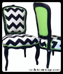 Rocaille-style chairs - a pair Coppia poltroncine in stile Rocaille