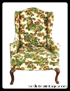 floral wingback before logo