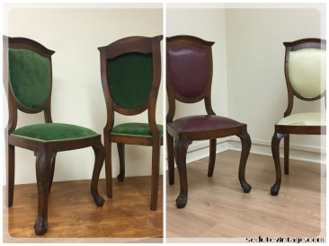 Coppia sedie - Pair of chairs
