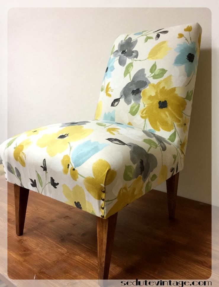 Poltroncina da camera – Slipper chair – SEDUTE VINTAGE
