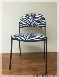 zebra desk chair