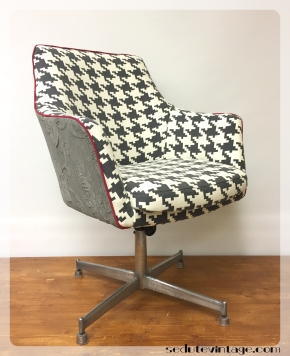 Su commissione, poltroncina da ufficio vintage – Vintage office chair, oncommission