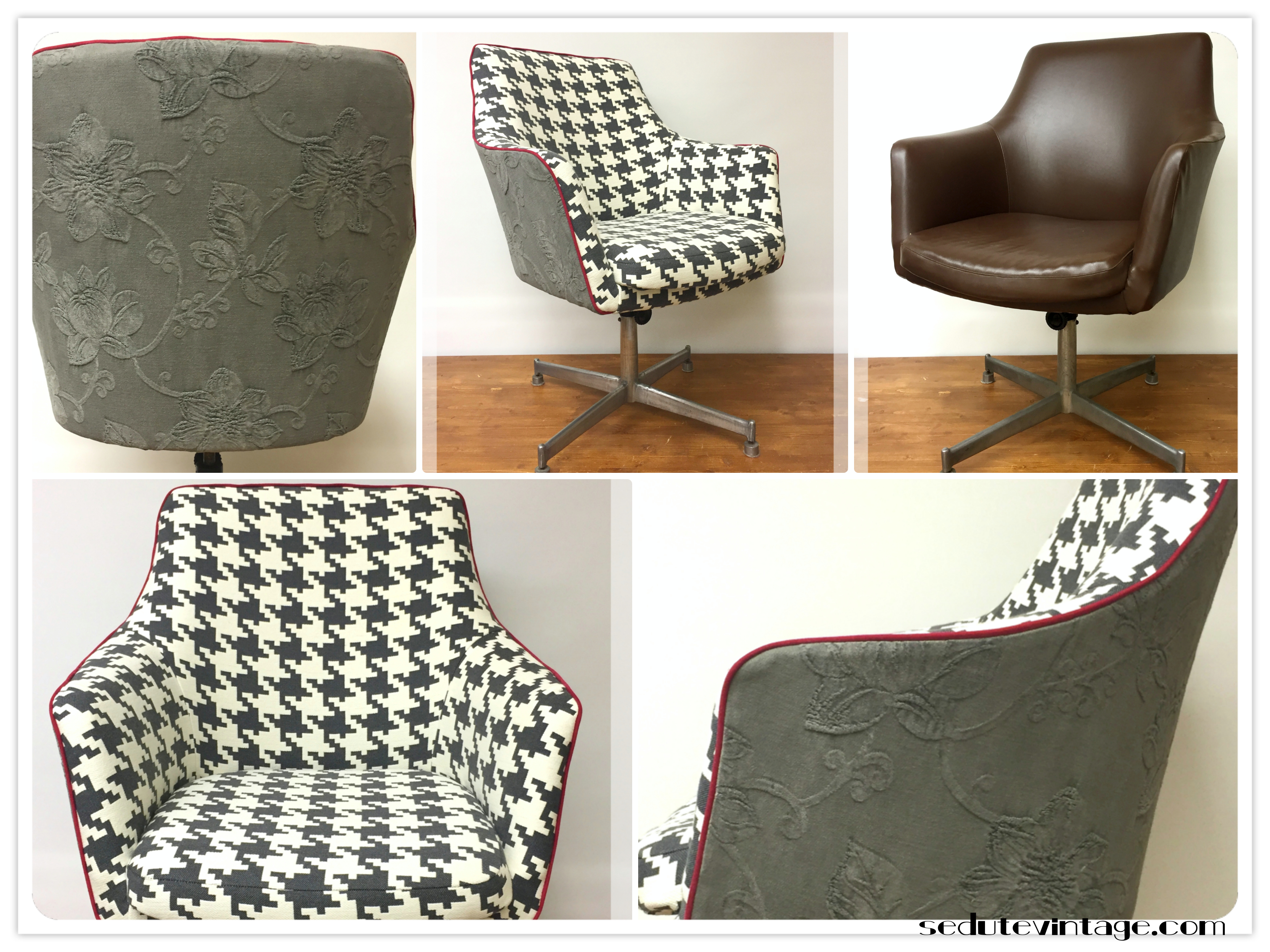 Poltrona Ufficio Anni 60 : Sedia da ufficio in metallo vintage anni mim parisi tecno