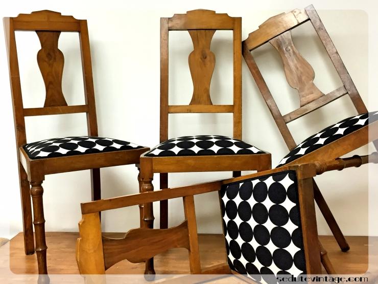 Dining chairs – Sedie da sala – SEDUTE VINTAGE