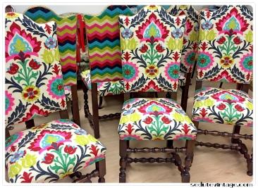 Set 6 sedie da sala - revival