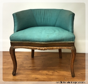 Poltroncina bluette - Blue side chair