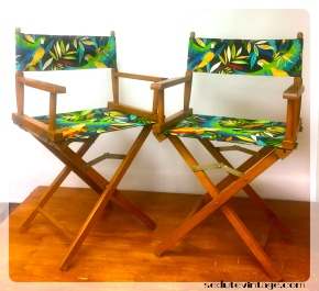 Original director's chairs